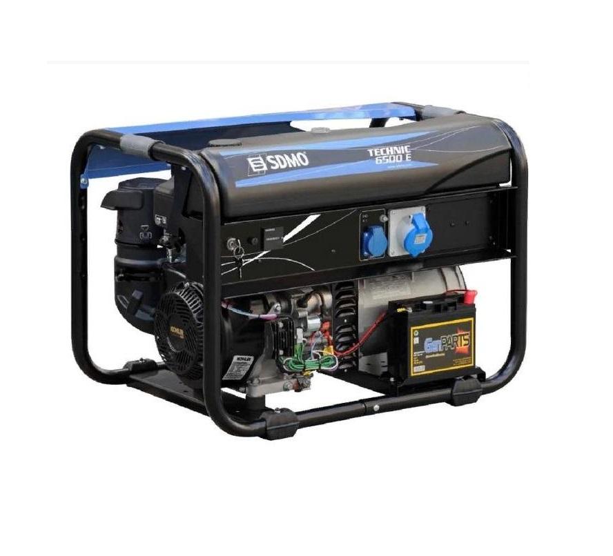 Бензиновый генератор (Бензогенератор) SDMO TECHNIC 6500 E